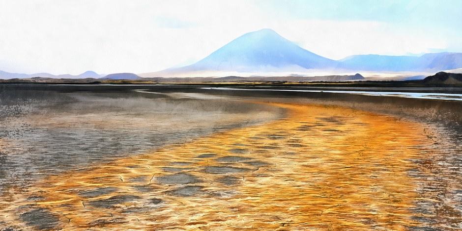 Lac-Natron-en-Tanzanie