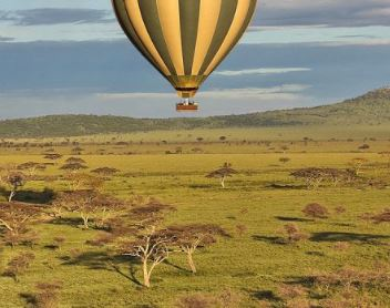 Montgolfière Tanzanie